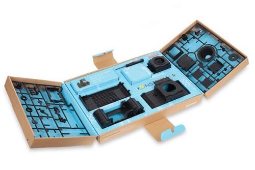 konstruktor F 自己DIY组装的单反相机