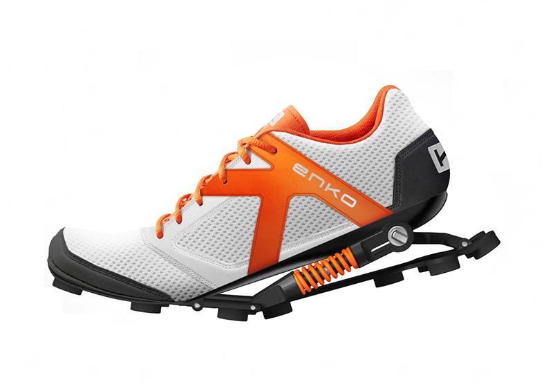 Enko弹簧减震运动鞋