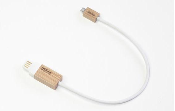 USBduo 木制USB数据线