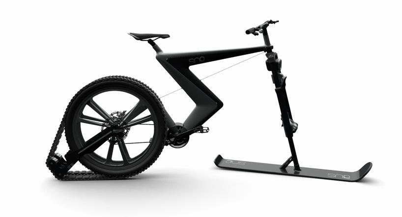 雪地自行车