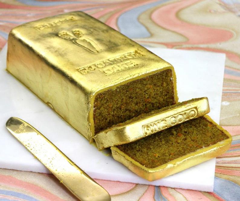 创意手工:金砖蛋糕
