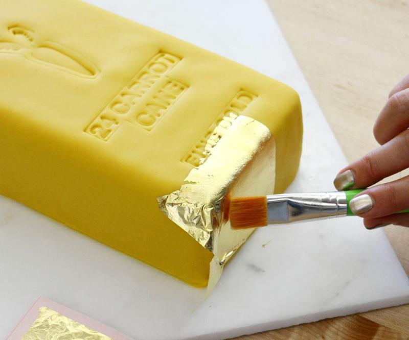 手工制作:金砖蛋糕