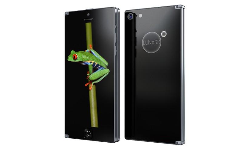 Lunark可折叠双屏智能手机