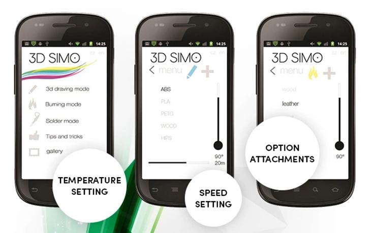 3D打印笔:3DSimo mini