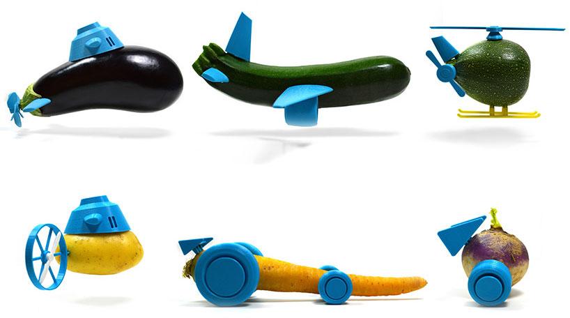 open toys 水果蔬菜分分钟变身玩具-奇趣发现