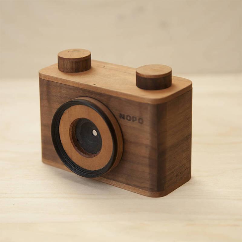 NOPO手工木质小孔相机