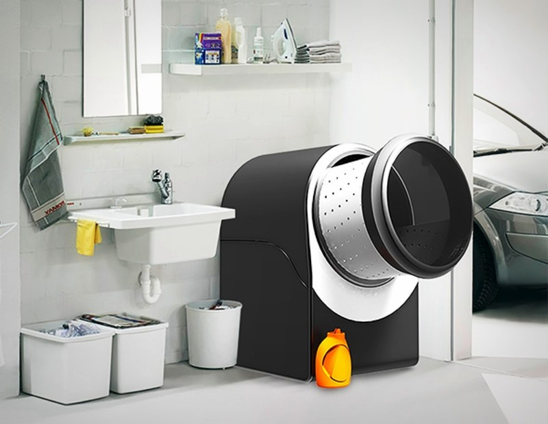 可以遥控的Tilt洗衣机