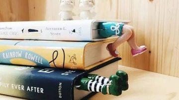 在美腿诱惑下,你还能静下心好好看书吗?