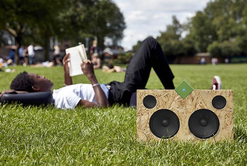 老旧扬声器改造成高保真蓝牙音响设备 Vamp speaker