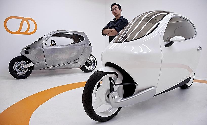 """全封闭两轮""""不倒翁""""Lit MotorsC1自平衡电动摩托车"""