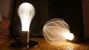 这些灯泡很不一样,以太阳系天体为灵感的透亮设计