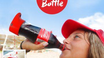 可口可乐自拍可乐瓶 捕捉精彩畅饮瞬间