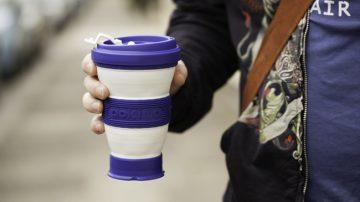 有了伸缩自如的咖啡杯pokito,你将拯救数百万的树!