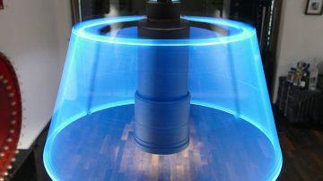 全球首款交互式3D吊灯POVLAMP