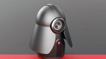 充满科幻感的未来家用摄像头homecam