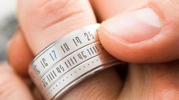 时光流动于指间!Ring Clock是戒指也是手表