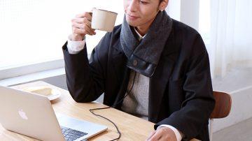 天冷不再怕,科技结合时尚!前所未有的发热围巾SUSTAIN
