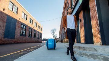 带着Gita机器人逛街从此解放你的双手