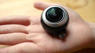 跨時代的最新自拍方式:360° 全景相机LyfieEye