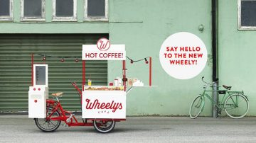 北欧绿能移动咖啡馆Wheelys Café一圆你的咖啡梦