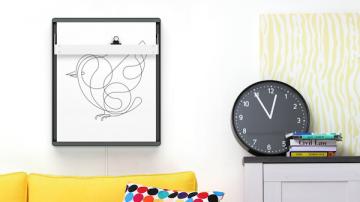 Joto智能机器人画板:通过手机发送图片或内容就能帮你画出来