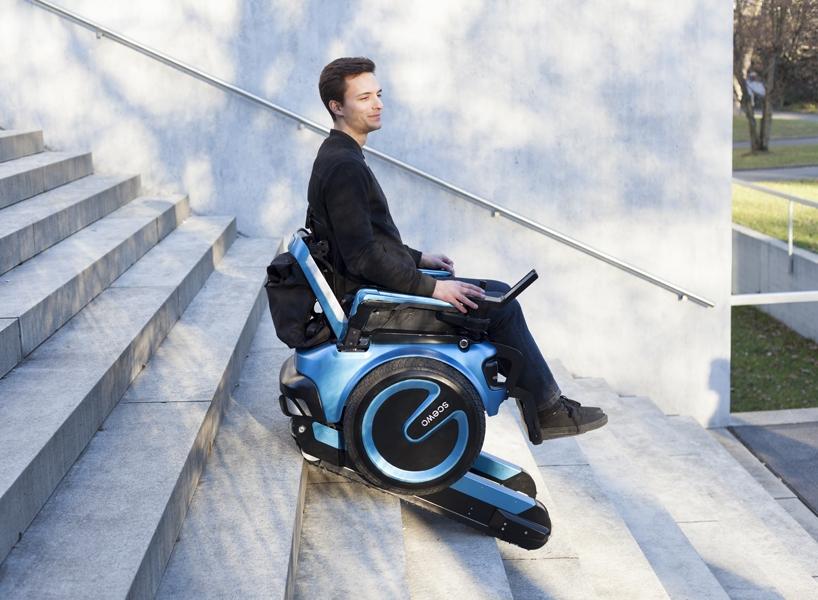 会爬楼梯的电动轮椅scewo