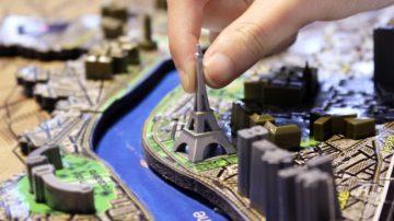 开疆拓土吧!4D城市立体拼图,体会美景的时光堆叠