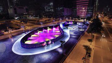 挑战自我无极限!NIKE兴建全世界首座LED跑道