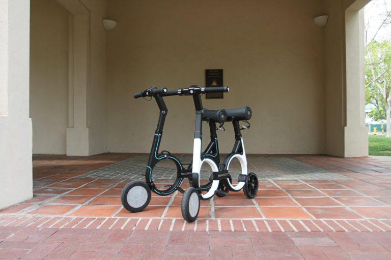 """全球首款可以放入背包的折叠电动车Smacircle """"S1"""""""