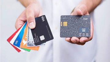 给你的钱包瘦身 fuze card可以将三十多张银行卡片加入一个单一加密芯片里