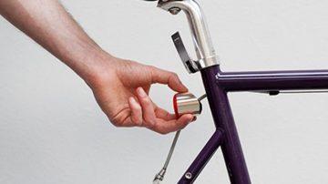 Copenhagen Parts,随吸随亮的磁性单车灯