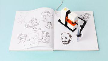 Line-us智能绘画机器人