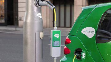 电动车充电新突破!Ubitricity改造伦敦路灯成充电站