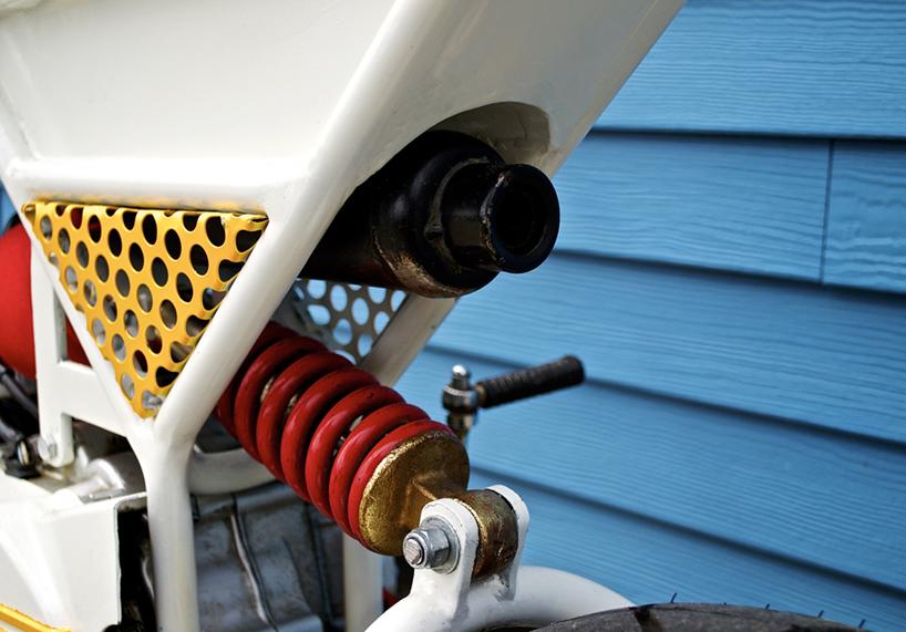 70cc通勤摩托 轻便堪比自行车