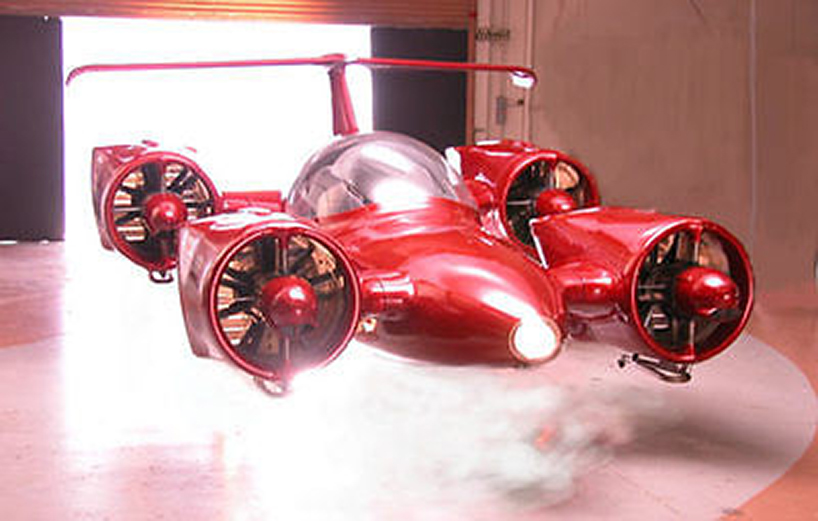 全球第一款可垂直起降私人飞机M400 Skycar