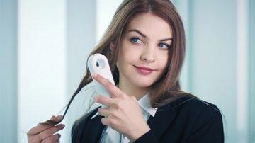 手机般的大小,1400瓦的实力:SYLPH智能控温吹风机