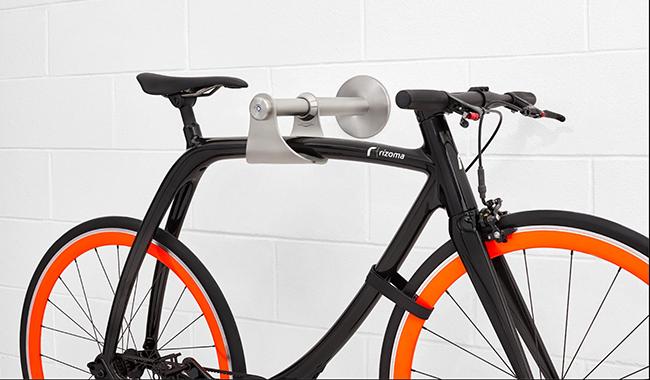 嫌单车锁不够美?Bike Safe S简洁又节省空间