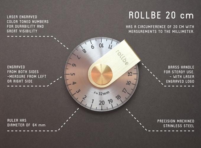 打破直线规则,走到哪都能量的Rollbe圆盘量器!