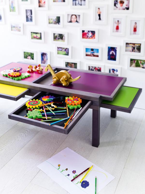 多功能变形桌子 Hexa 让空间更灵活