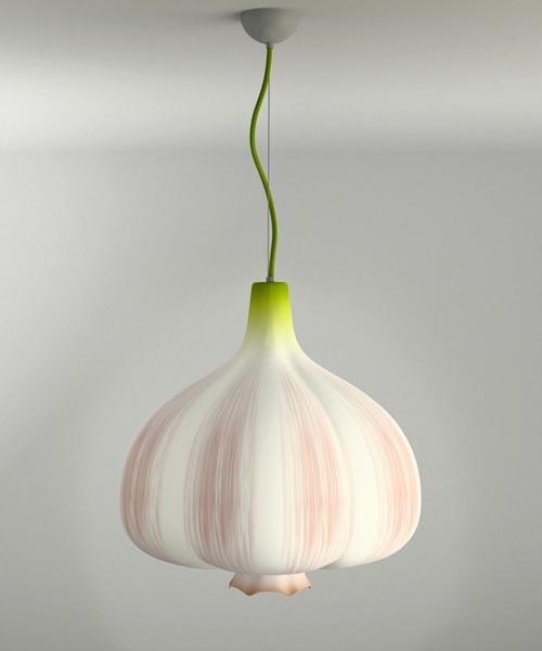 大蒜吊灯(Garlic Lamp)