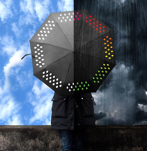 变色伞:Colour Changing Umbrella