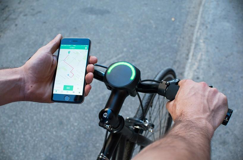 SmartHalo:把普通自行车变成智能自行车