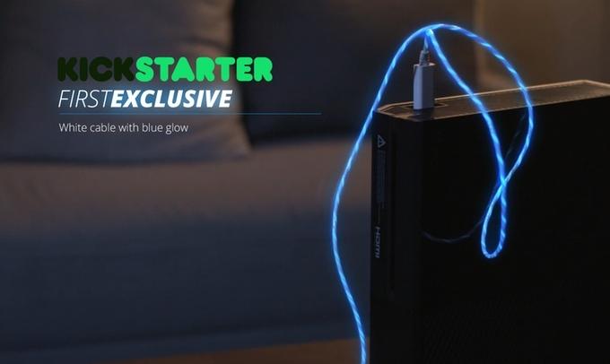 Light Pulse发光电流数据线