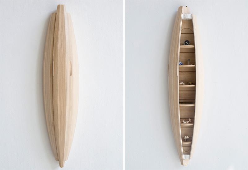 创意家居:墙上的橱柜艺术