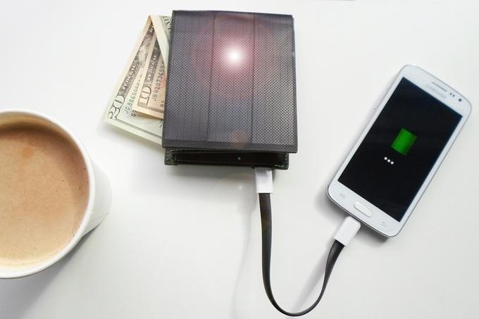 SUNO WALLET 太阳能充电包钱包