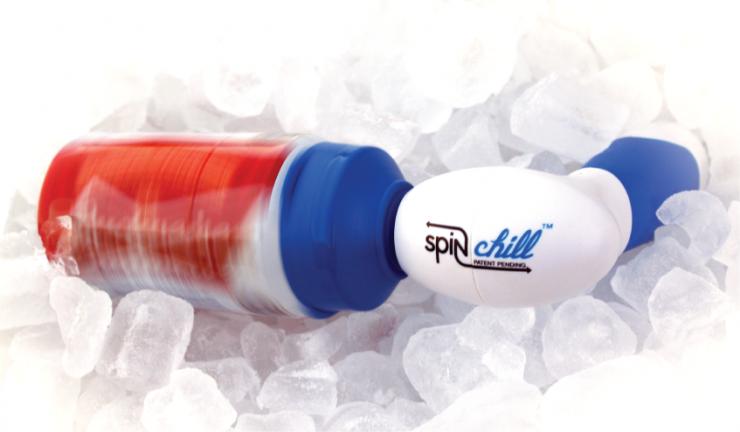 快速冷却器 SpinChill,可以在60秒内让饮料变冰镇