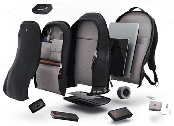 iBackPack能提供WiFi的智能背包
