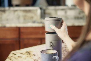 Bruvelo 智能咖啡机,现磨咖啡手机管