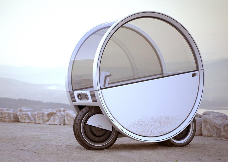 Moon可扩展户外车,双轮月球车