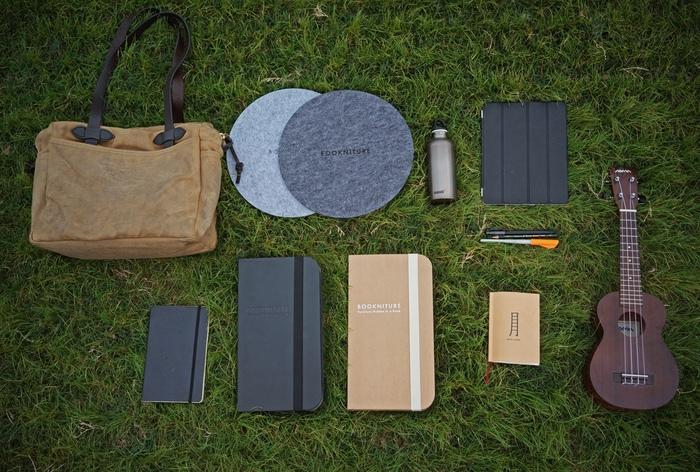 Bookniture折叠家具,可以像书一样放起来